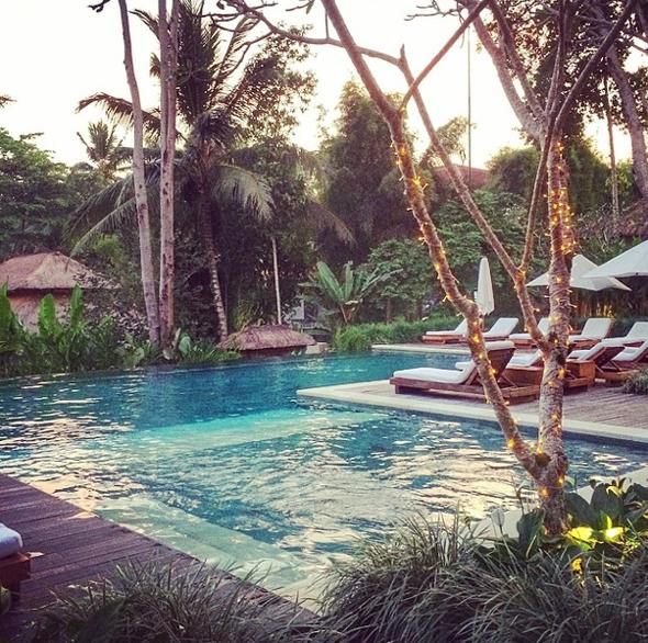 Uma Ubud Infinity Pool