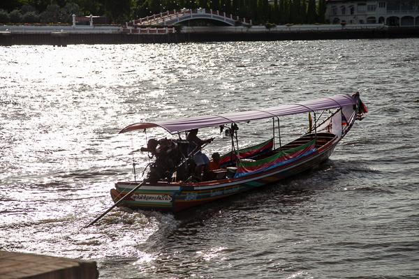 Bangkok Stadtrundfahrt auf dem Wasser