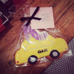 New York Taxi Cookie