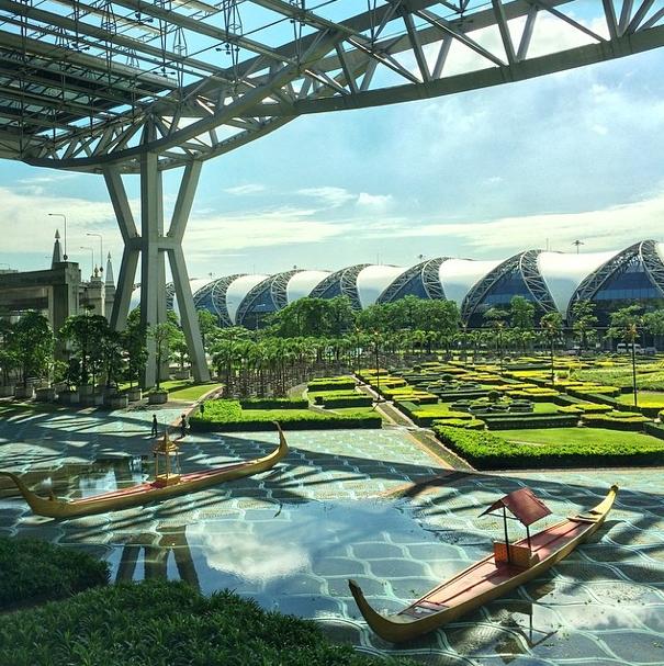 Zwei Tage in Bangkok Anreise