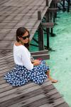 Jaspal Flower Skirt Summer 2014