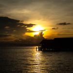 Lankayan Island Sonnenuntergang