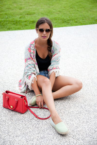 Zara Kimono Flowers Summer 2014