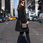 New York Fashion District Street Style