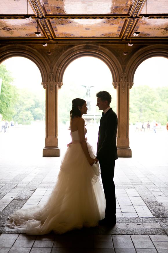 Unsere Hochzeit im New Yorker Central Park