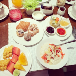Metropolitan Bangkok Breakfast