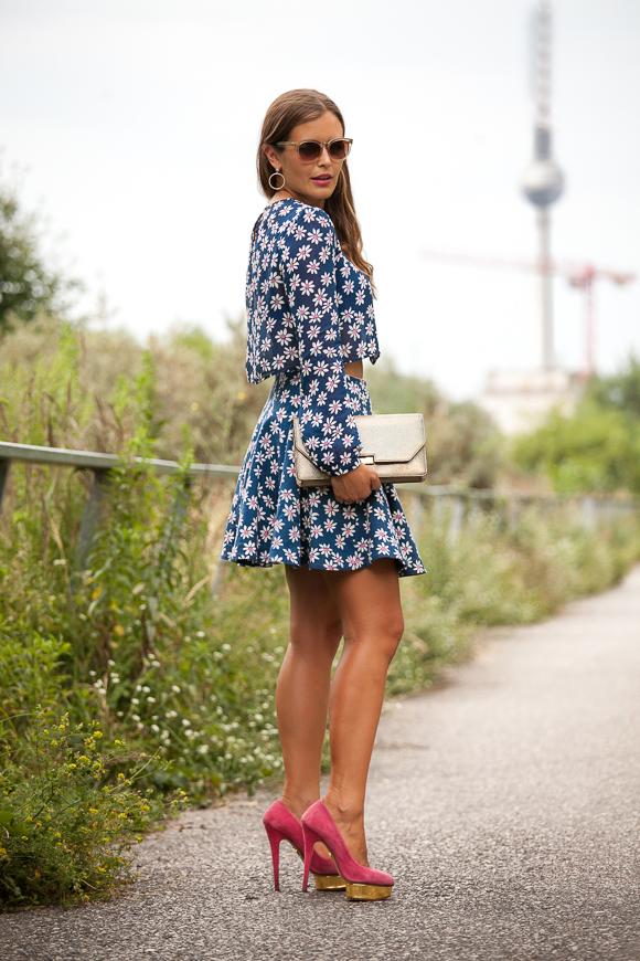 Flower blouse skirt Jaspal summer 2014