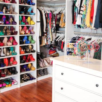 begehbarer Kleiderschrank Blogger