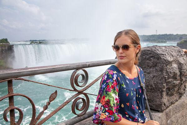 Niagara Falls Josie loves