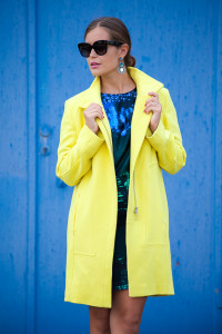 Laurèl Coat Yellow