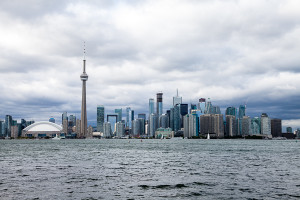 Toronto Islands View Skyline