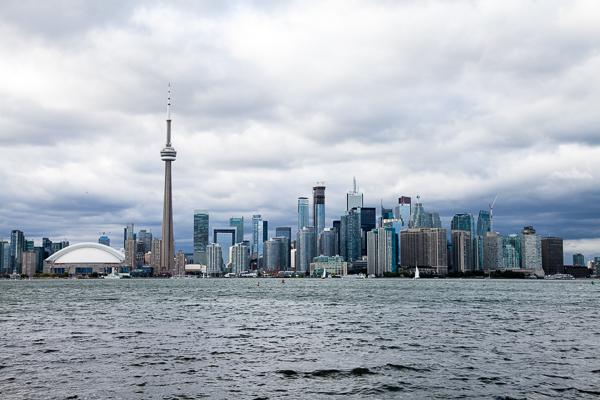 Toronto Islands View Skyline