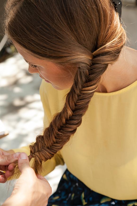 Hair Tutorial Mit Top Stylistin Sina Velke Wie Flechte Ich Einen