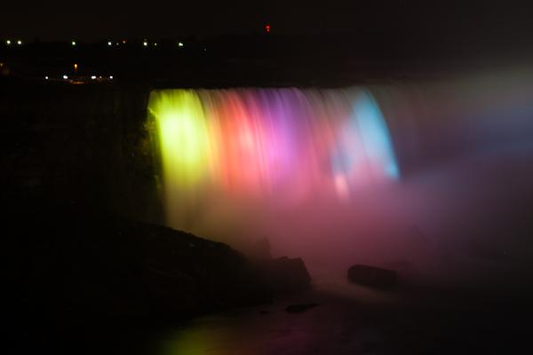 Niagara Falls Light Show