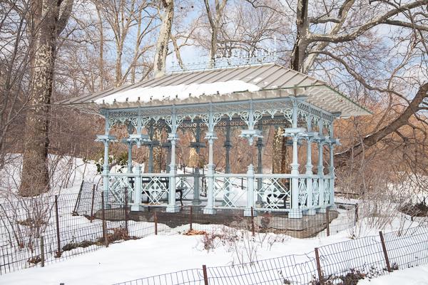 Ladies Pavilion New York City Central Park