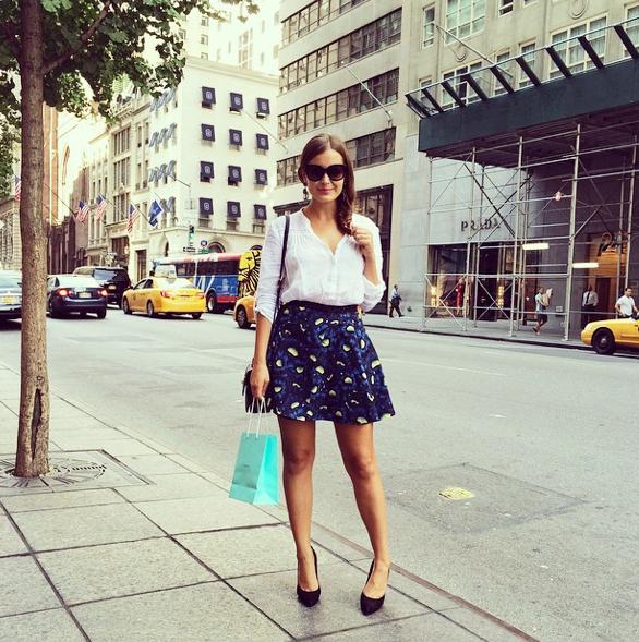 Tiffany & Co. Shopping 5th Avenue