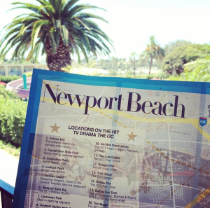 Newport Beach Map