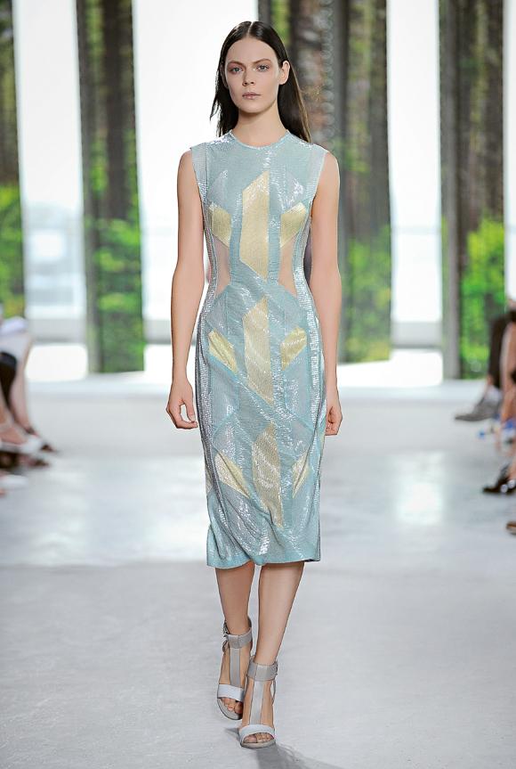 New York Fashion Week: BOSS Woman Sommer 2015