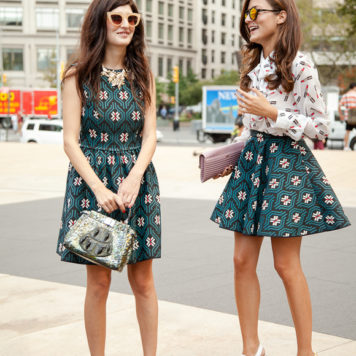 Fashion Week Street Styles New York Sommer 2014