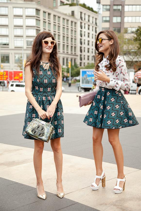 Fashion Week Street Styles New York Sommer 2014