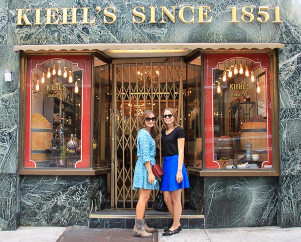 Ein Tag mit Kiehl's in New York City