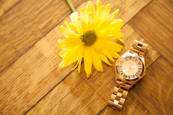 Marc by Marc Jacobs Watch Summer 2014 Gold