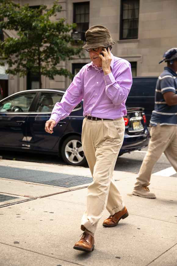 Woody Allen New York City September 2014