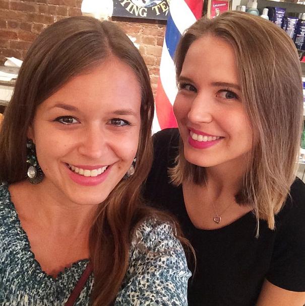 Bild des Tages: Sue und Sarah mit Kiehl's in New York City