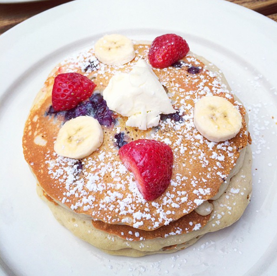 "Pancakes im ""The Diner"""