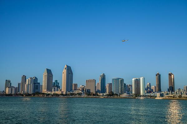 Die Skyline von San Diego