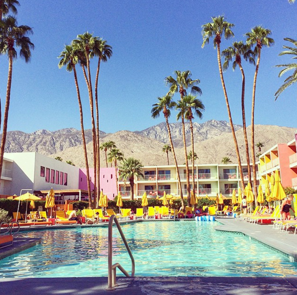 Unser Hotel in Palm Springs