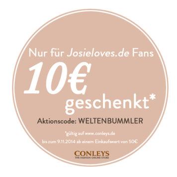 Conleys Gutschein 2014
