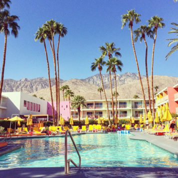Palm Springs Hotel Pool