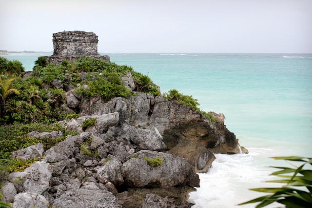 Tulum Maya Ruine Mexiko