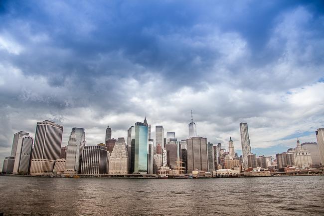 New York City Manhattan Skyline Brooklyn