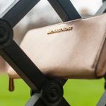 Jet Set Travel Metallic Leather Wallet