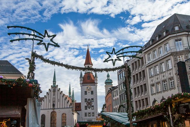 München Weihnachtsmarkt Marienplatz