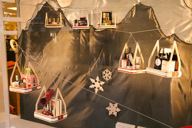 München Weihnachten Schaufenster Ludwig Beck Hautnah