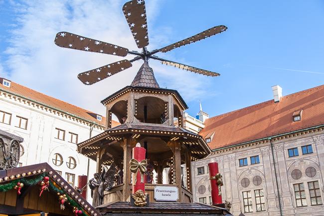 München Weihnachtsmarkt Residenz
