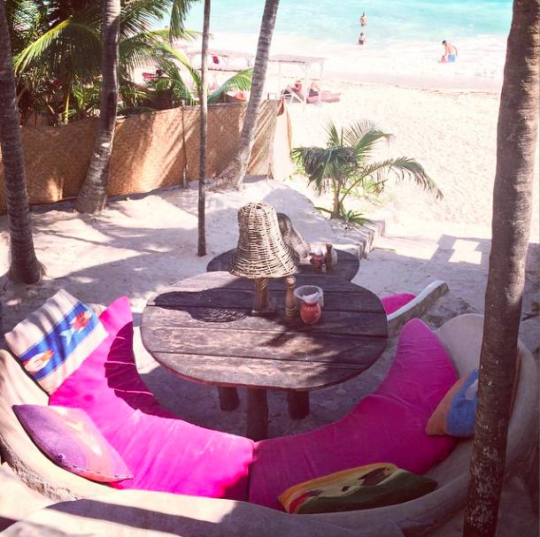 Papaya Playa Beach Club in Tulum