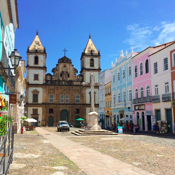 Die Altstadt von Salvador da Bahia