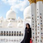 Kleiderordnung Moschee Abu Dhabi