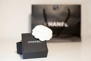 Chanel Schachtel Verpackung Blüte