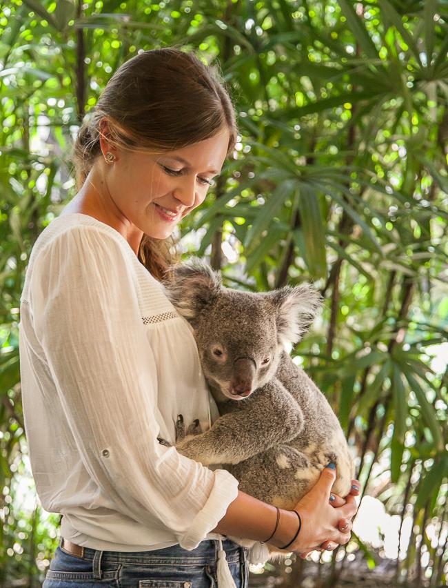Josie loves in Australien