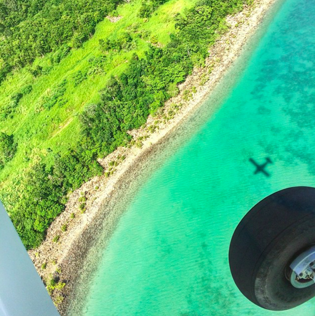 Ein Rundflug über die Whitsunday Islands