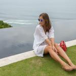 weiße Tunika Sommer 2015