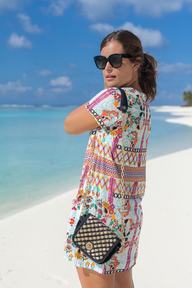 Ein erster Malediven-Look mit meinem neuen Lieblingskleid von Bali Boat Shed