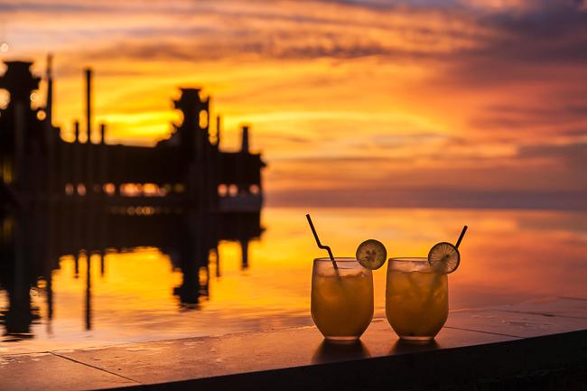 Sonnenuntergang Anantara Uluwatu Bali