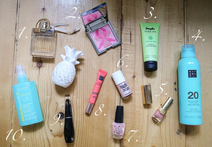 Beauty-Sommer-Lieblinge von Chloé, Benefit, RITUALS und Lancôme