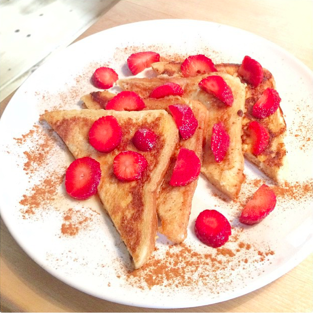 Selbstgemachter French Toast